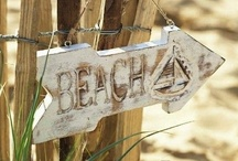 """Beachy Dreams / """"Under the board walk, down by the sea."""" / by Lydia Smith"""