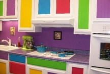 Kitchen Makeover / If I could dream up my perfect kitchen, it would be something like all this :D