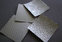 Embossing folder tutorials