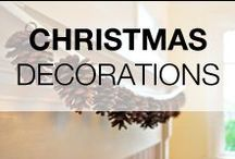 Christmas Decorations DIY & Ideas / Repurposed, recycled, upcycled & reclaimed Christmas ideas and decorations. Who say that Christmas should be expensive? Find thousands of ideas for your Christmas decorations at low cost!