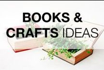 "Books Crafts & Ideas / Share all your books ideas with us ! Please PIN only #7 at a time ! But, there is **NO** 24 Hour limit ! This is a high quality, safe, family oriented & ""G"" rated board. If you are a #Blogger, please feel free to add friends ! No #Etsy, #Google or #Tumblr pins. Any spam will be reported to Pinterest. Thanks and Have Fun !"