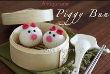 CRAFTS - itsy bitsy dolls, hairpins, animals & other little things to make  / DIY: felted, fabric, paper, cardboard, scraps, / by Grayce Blair