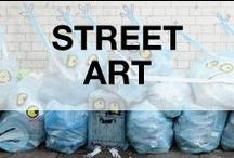 Street Art Graffitis & Illusions / Everything based on poetical use of urban space. Street art can go from graffiti to urban happenings!