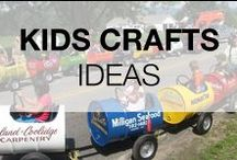 Funny Recycled Crafts for Kids / Are you in search of ideas for your kids? Here are some ideas & DIY projects to do for or with your kids and of course from recycled materials!
