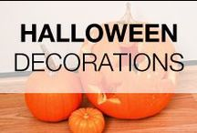 DIY Halloween Decorations & Costumes Ideas / Pumpkins, decor and other costumes for fall and Halloween inspiration.