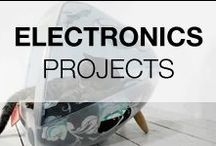 Cool Electronic Projects & DIY Ideas / Ideas of recycled and upcycled electronics waste! Be creative with all that obsolete electronic products around you!