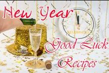 New Year's Party, Decor, crafts, Recipes / New Year's Party/ New Year's decor/ New Year's Recipes/ New Year's drinks