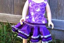 """Sewing - Doll Clothes / Doll clothes to sew, mostly for 18"""" (American Girl style) dolls."""