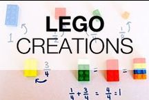 Lego Craft Creations For Kids / We are big fans of Lego! In this board, you'll find some of the best LEGO creations for kids and for adults also :)