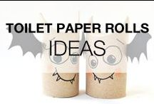 Toilet Paper Roll Crafts & Ideas / You couldn't imagine what you can do with this everyday object that finishes its life in the garbage most of the time. You will see your toilet paper rolls differently now!