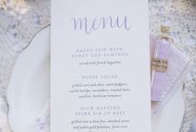 PAARS // Purple wedding stationery