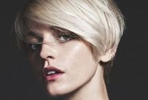 Hair Ideas / I'm thinking about cutting my hair short, so I'm putting some ideas up here! / by Anna Marie Pickles