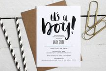 BABYSHOWER UITNODIGING // Babyshower invitation