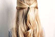 Hairstyles for girls toddler to teen / What to do with a little girl's hair so that it's neat and tidy and not in her eyes all day!