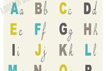 For the Kids :: Numbers + Letters / by Freshly Picked