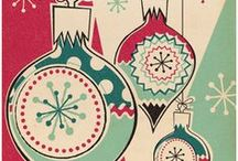 Vintage/Retro Christmas Gift Wraps, Cards and Ornaments / by Kathy Grimm