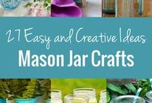 Mason Jar Crafts / Mason jars have been around for as long as I can remember and until this year I hadn't really noticed them. Now I love them! I want to get creative. I want this to be a board we can all add our creativity too. Want to join this board? Follow me. Then send me an email with your pinterest url.  homemom3@gmail.com  We are looking for any Mason jar crafts, recipes, kits, etc. Have fun!  mason jars | mason jar crafts | mason jar uses | recipes for mason jars | mason jar gifts