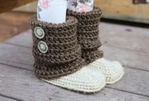 crochet - slippers / crochet slipper patterns, paid or free, for babies, children and adults.