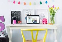 Work Spaces / DIY | 9-5 POSH | CHIC ORGANIZATION  / by Freshly Picked