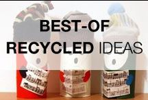 Best Of Recycling Projects / Our best-of recycled, upcycled, repurposed & reclaimed ideas! If you want the cream of recycled ideas & projects, this is the board you should follow :)