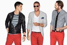 colorful men's fashion (kolorowe stylizacje męskie)