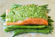fishy foods / recipies with fish as the main source of protein
