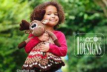 crochet - baby lovey/security blanket