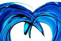 shades of blue ( odcienie niebieskiego)