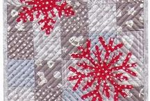 Christmas Fabric and Textiles Projects / Collecting ideas and patterns for quilts, table runners, tree skirts, place mats etc... / by Kathy Grimm