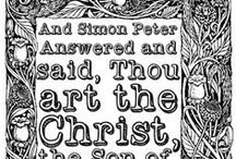 Color The Bible by Kathy Grimm / Coloring pages for both adults and children including topics from the Bible, Christian culture and ancient history. Free coloring for everyone, enjoy. All pages here originate from http://colorthebible.blogspot.com My personal collection; Read Terms of Use. / by Kathy Grimm