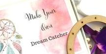 Dream Catcher / Tips and ideas to help you make your own beautiful dream catcher using a kit from www.undertherowantrees.com