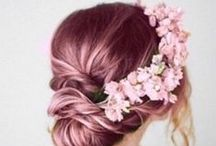 Hair Boutique ''' / braids, long, short, bangs.. / by Telma Alves