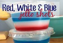 4th of July! / All things red, white and blue for the 4th of July - 4th of July recipes, 4th of July decor, 4th of July crafts