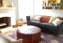 Client C's Living Room / My Sacred Space Design of a beloved family's living room in their home in NJ.