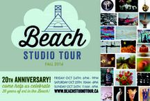 Beach Studio Tour / HOME is where the ART is. Come visit us @ studio sites located in Toronto's Beach community. This tour offers fine craftmanship in a variety of mediums and styles for the home. Self-guided, FREE admission. Brochures (with map) will be available at most local shops and on our website. On the weekend of the tour look for the yellow signs and explore our vibrant, artistic neighbourhood. www.beachstudiotour.ca Contact:  Lucille Crighton 416-694-4046 lucille2@sympatico.ca