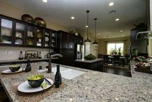 Lennar Kitchens / Inspired by kitchen decor? Well we have for you, ideas galore! These are some of the kitchens in our homes!