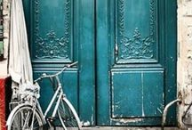 Doors Decor / Here are some fun door ideas we've found on the web!