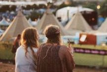 Glastonbury Guest Edit / The folktastic Fox & Feather has guest edited a board choc-full of inspiration for this year's Glastonbury festival in Somerset. We're dreaming of fields of love and plenty of fringing / by Beyond Retro