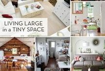 TIPS FOR SMALL SPACES~ / Tiny houses...small spaces...less is definitely more these days! Here are some great #Tips for taking advantage of every inch! Enjoy! ~Shawn Augustine, Realtor® serving Minnesota & Wisconsin www.shawnaugustine.com ~ Find me on Facebook at:  www.facebook.com/shawnaugustinerealtor