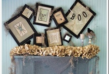 Halloween inspiration / what's more to say! crafts and decor for Halloween