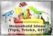 DIY•ness❣ {Household tips & !deas} / Household hints, tips, tricks, organizational ideas and lotza DIY cleaners & products.