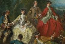 18th c. - Riding Habits / Riding habits, traveling dress, and sporting attire for women in the 18th century