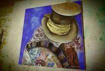 Dipinti - Paintings Maria Rosaria Pugliese artista / Tecnica personale