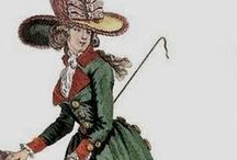 18th c. - Redingotes / Study and reference of 18th century Redingotes for women