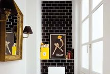 Powder Room Ideas / making a statement in the powder room decor