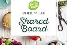 Back To School: Shared Bulletin Board / --CONTEST HAS ENDED--  Congrats to Elaina K for winning one free month of HelloFresh! Thank you to everyone who participated in our first shared community board. Stay tuned for future opportunities!