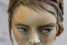 Art Dolls and Figurative Sculpture / I am a doll maker at heart, I create a lot of things, but nothing gives me such satisfaction as watching a little personality evolve.  The doll artist pours their soul into each creation, it is an extension of themselves. / by Jan Bush-Wood