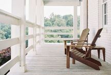 {{Porch}} / I love a good front porch {or rear deck}