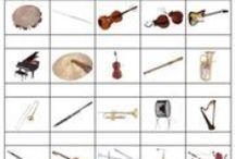 music class - instruments / by Sandy Hoffmann