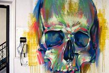 Graffiti-Design elements